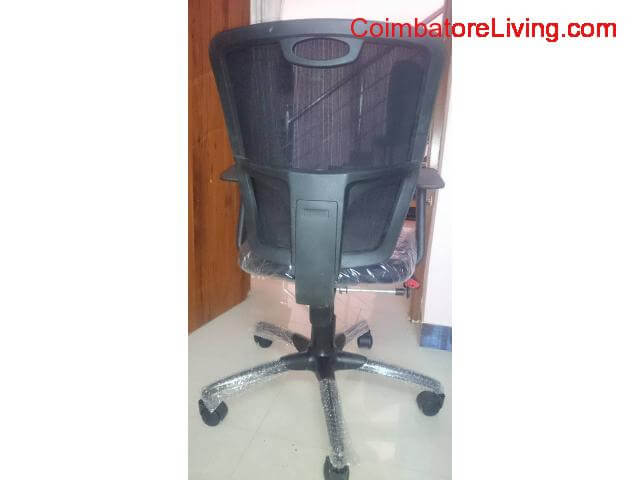 coimbatore - New Rolling Chairs with Mesh - 2/3