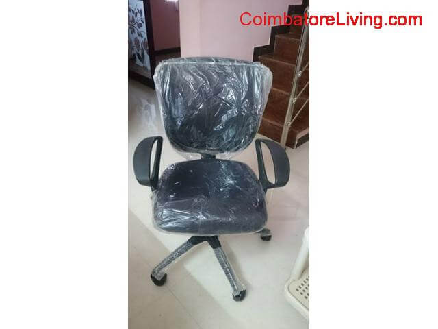coimbatore - New Rolling Chairs with Mesh - 3/3