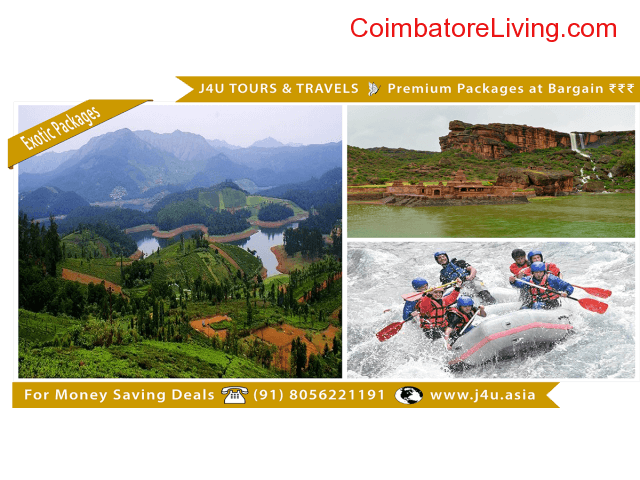 coimbatore - Premium Holiday Packages for Bargain Price - J4U Tours and Travels - 2/6