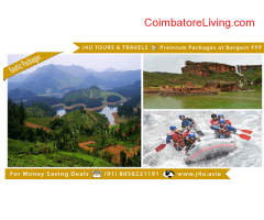 coimbatore - Premium Holiday Packages for Bargain Price - J4U Tours and Travels