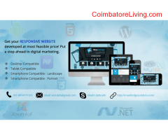 coimbatore -Get your responsive website developed at most feasible price!