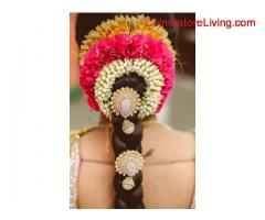 coimbatore - Flower Veni making classes Shris crafts
