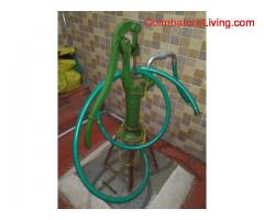 Water sucking pump for sale 35 kgs iron with 4no washer