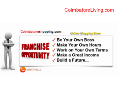 coimbatore -Wanted people for franchise in coimbatoreshopping.com