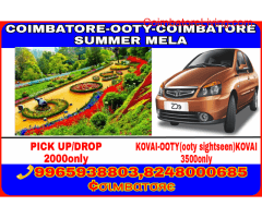 COIMBATORE TO OOTY(one day trip)