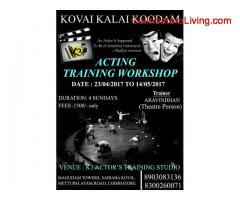 coimbatore - Acting training Workshop