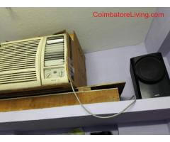 lg 1 ton window ac for sale