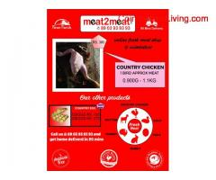 coimbatore - Fresh Country Chicken meat & Egg home delivery in  90 Min