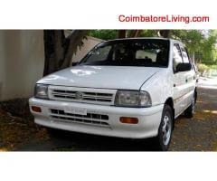 Maruthi zen for sale 1998 model well maintained