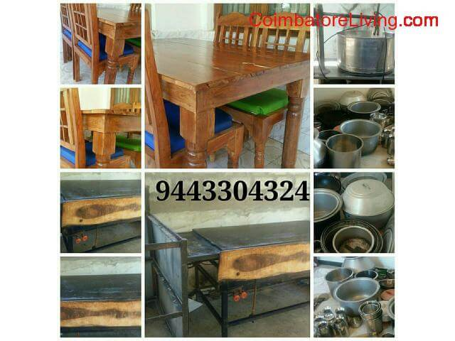 coimbatore - Used hotel Furniture items for sale - 1/1
