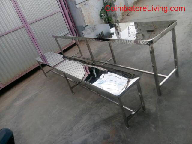 coimbatore - Stainless steel furniture manufacturers - 2/3