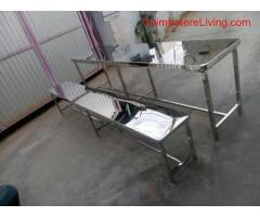 Stainless steel furniture manufacturers