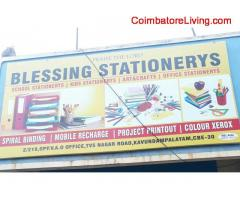 coimbatore -BLESSING STATIONARYS