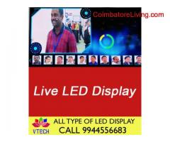 Live Led Display p10 to P4 RGB And Single colour Display and Advertisement Display Full HD Display