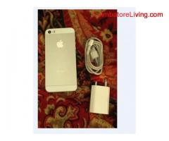 coimbatore -iphone 5s 32gb white with silver