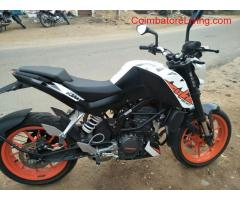 coimbatore - ktm duke 2017 model