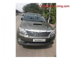 coimbatore - Toyota Fortuner for sale