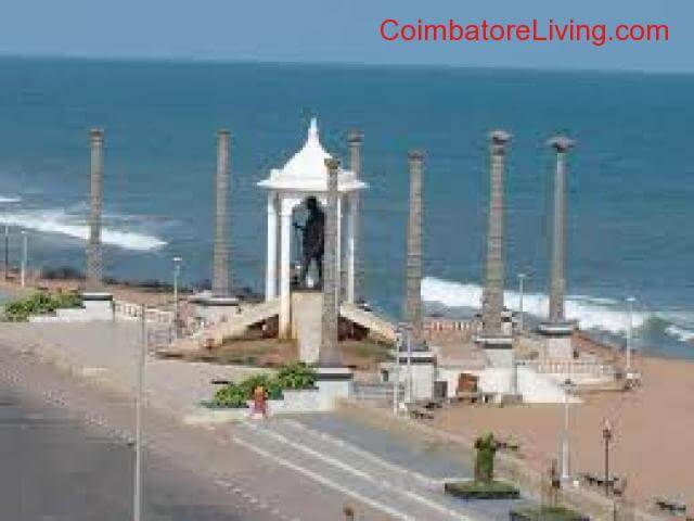 coimbatore - Weekend/Two day trip to Pondicherry at cheapest fare - 3/5