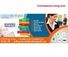 coimbatore -Final year projects in Pollachi