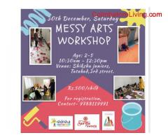 coimbatore -Messy arts workshop