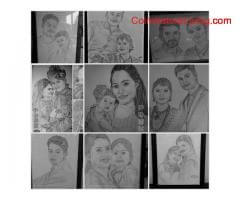 coimbatore -Framed Pencil Sketches