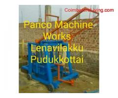 coimbatore - Hollow block machines