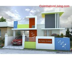 coimbatore - 2BHK Luxury Semi Furniched for sales