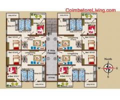 coimbatore - 2BHK Luxury Apartment for sales