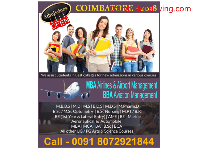 coimbatore - Admissions Open 2018 - 19 - 1/1