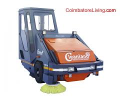 coimbatore -Latest Cleanland GL-SHAKTI-009 Model Premium Sweeping Machine