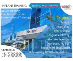 Inplant Training in Appin Technology Coimbatore.