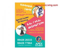 coimbatore -JUNIOR DIPLOMA IN ANIMATION