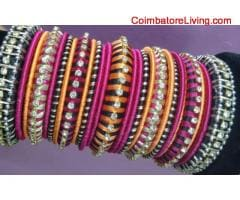 coimbatore -Silk Thread Jewel Making Classes in Vadavalli, Coimbatore