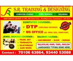 DTP TRAINING & JEWEL MAKING CLASSES AT LOW COST