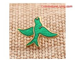 Bird shirt pins