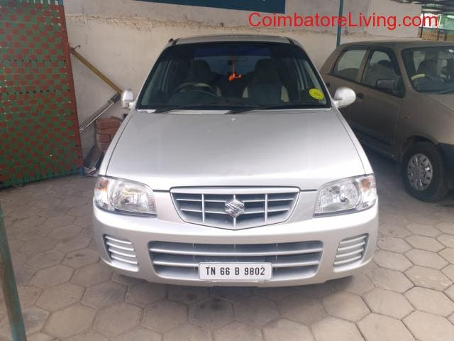 Alto Lxi Good Condition Single Owner Coimbatore Reg 2010