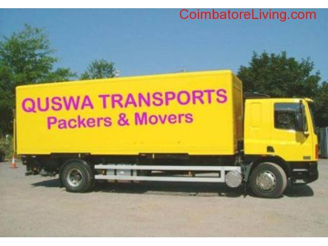 coimbatore - Quswa Transports Packers and Movers-call 04224351850,8807971489 - 1/5