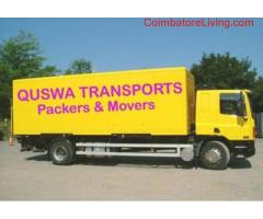 coimbatore - Quswa Transports Packers and Movers-call 04224351850,8807971489