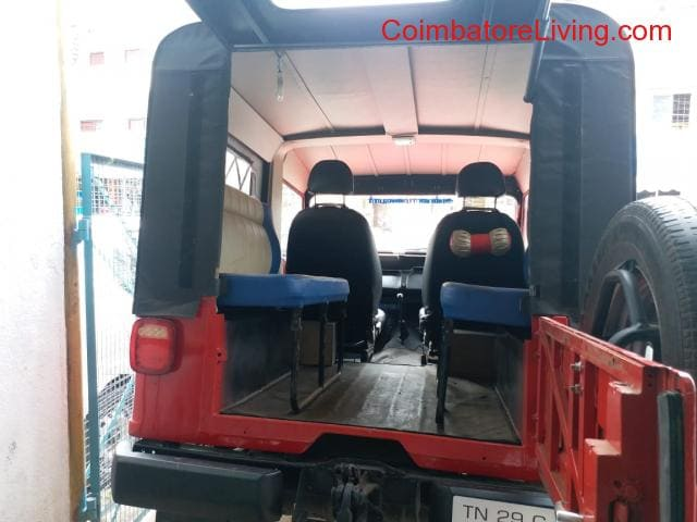 Mahindra Jeep MM 540 DP Good Condition 2002 Model Car For