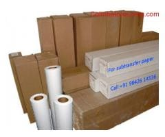 Sublimation paper and Designjet Plotter Services and spare supplies