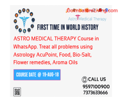 Astro Medical Therapy Course in WhatsApp | Call:9597100900