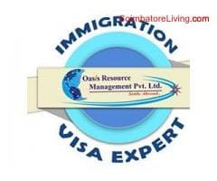 coimbatore - Best Immigration Consultants in New Delhi - Oasis Resource Management