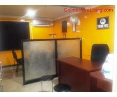 coimbatore - Available 260 Sq ft furnished office for rent in Ramnagar, Coimbatore