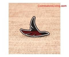 The flying bird custom pins