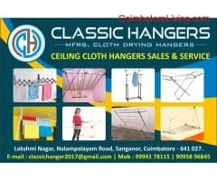 classic ceiling cloth drying hangers