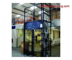 Hydraulic goods lift manufacturer India | Fabtexbaler