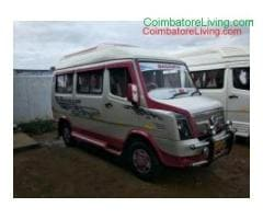 coimbatore - Tempo Traveller Rental Service in All over India