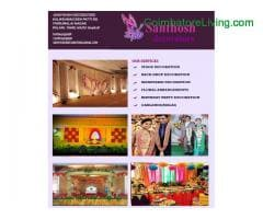 santhosh decorators | wedding planner