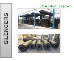 Cooling Tower, Heat Exchangers, Industrial Silencer Manufacturers India