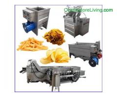 Professional Potato Chips French Fries Machines